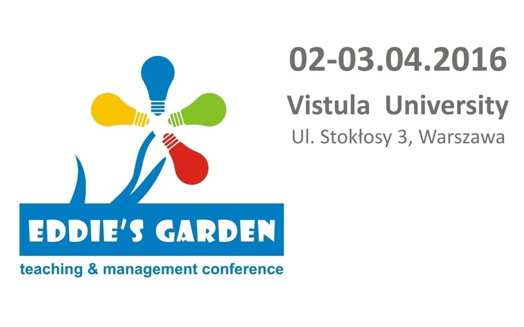 Konferencja Eddie's Garden