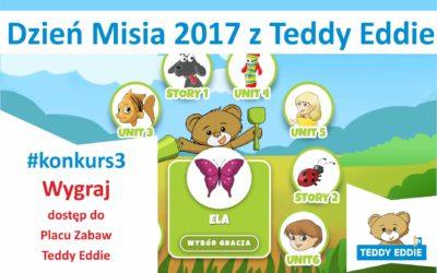 !WYGRAJ dla swojego dziecka dostęp do Palcu Zabaw – edukacyjnej aplikacji Teddy Eddie!