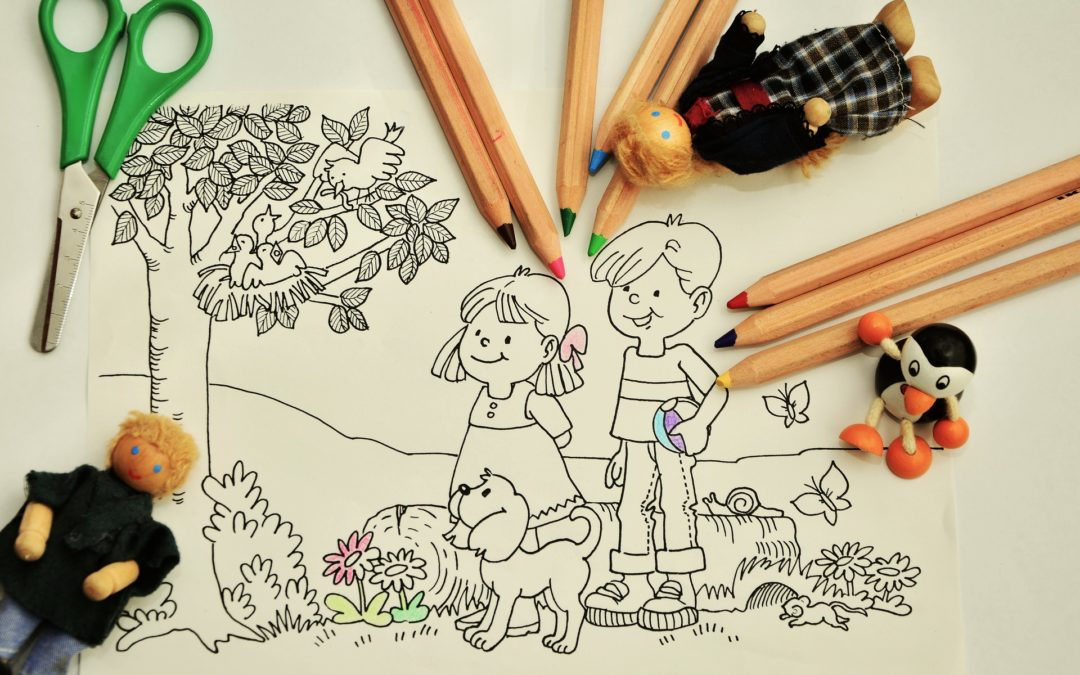 TAKE AWAY CORNER 3 – colouring, pen-to-paper exercises AND/ OR … speaking in English?