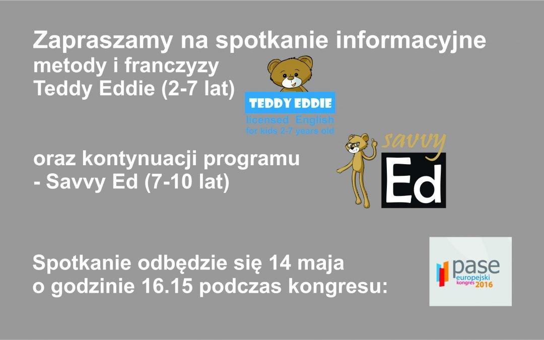 Spotkanie informacyjne Teddy Eddie i Savvy Ed
