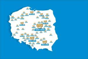 mapa szkół