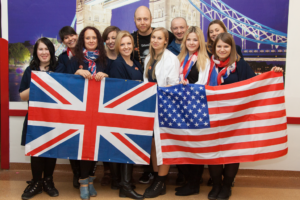 Nasza kadra podczas American&British Day